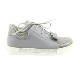 Ren But Ren chaussures 3303 chaussures en cuir gris
