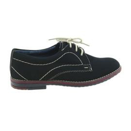 Chaussures garçons Gregors 429 bleu marine