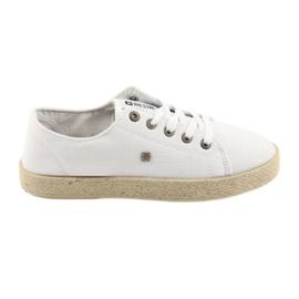 Ballerines Espadrilles Chaussures Dames Blanc Big Star 274423