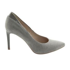 Escarpins sur un stiletto ANIS chaussures femmes gris