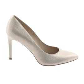 Chaussures pour dames en cuir Anis 4527 jaune
