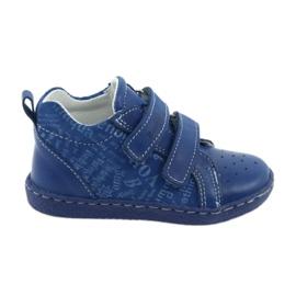 Bleu Chaussures médicales d'enfants à velcro Ren But 1429