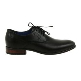 Chaussures lounge formelles pour hommes Nikopol 1695 noires