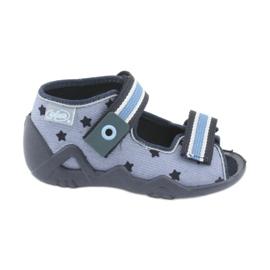 Chaussures enfant jaune Befado 250P079