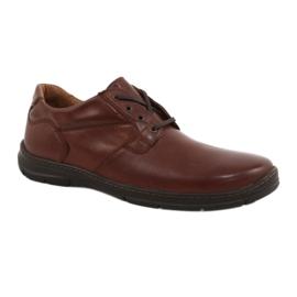 Brun Chaussures Badura hommes confort 3509 marron
