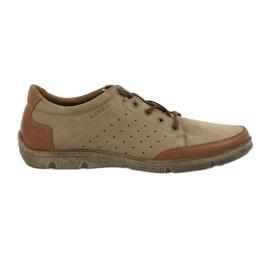Brun Chaussures pour hommes Badura 3524 beige / marron