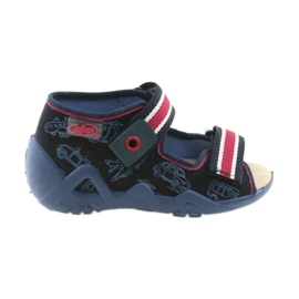 Marine Chaussures enfant jaune Befado 350P003