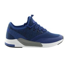 Chaussures de sport pour homme DK 18470 bleu