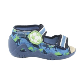 Chaussures enfant jaune Befado 350P002