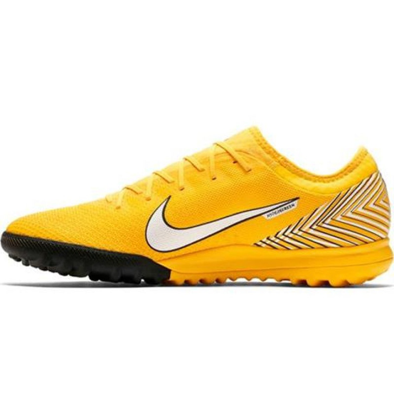 Chaussures de foot Nike Mercurial Vapour 12 Pro Neymar Tf AO4703-710 jaune jaune
