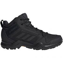 Noir Chaussures trekking adidas Terrex AX3 Mid Gtx Vz M BC0466