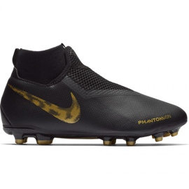 Chaussures de football Nike Phantom Academy DF FG / MG Jr AO3287-077 noir noir
