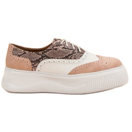 Rose Chaussures VICES Fashion