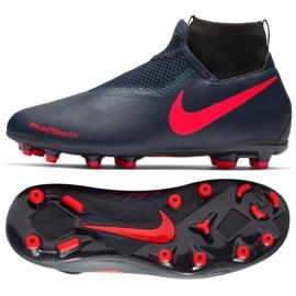 Chaussures Nike Phantom Academy Df Fg Jr AO3287-440 bleu marine