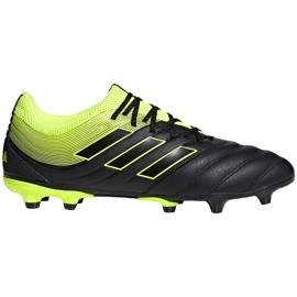Chaussures de foot adidas Copa 19.4 Fg Jr D98088 noir noir