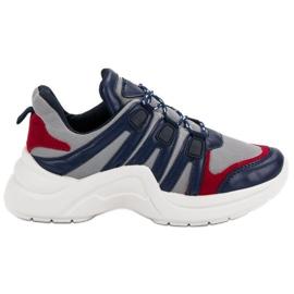 Kylie bleu Chaussures de sport confortables