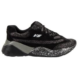 Chaussures de sport avec brocart VICES noir