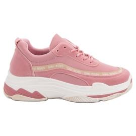 Chaussures de sport VICES roses