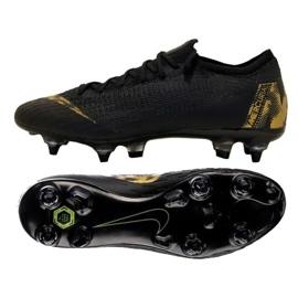 Chaussure de football Nike Mercurial Vapor 12 Elite SG Pro M M AH7381-077 noir noir