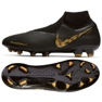 Chaussures de football Nike Phantom Vsn Elite Df Fg M AO3262-077 noir noir