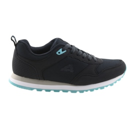 Chaussures de sport American Club WT26. Bleu foncé