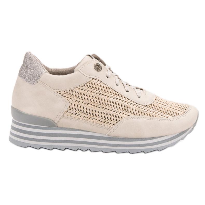 Aclys Sneakers Avec Motif brun