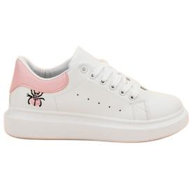 Kylie Chaussures de sport à la mode blanc