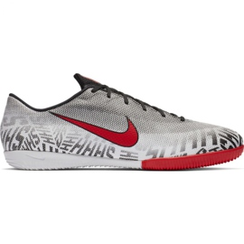 Chaussures Nike Mercurial Vapor X 12 Academy Neymar Ic M AO3122-170 gris gris