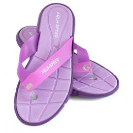 Pourpre Chaussons Aqua-Speed Bali violet 09 479