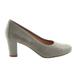 Chaussures femme semelle élastique Arka 5137 gris