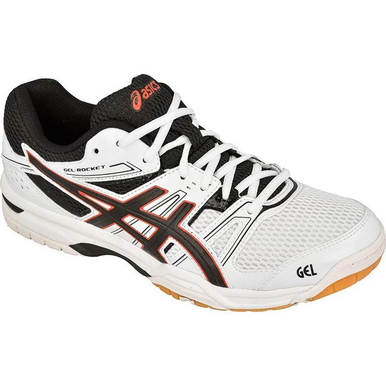 Chaussures de volleyball Asics Gel-Rocket 7 M B405N-0190 blanc blanc