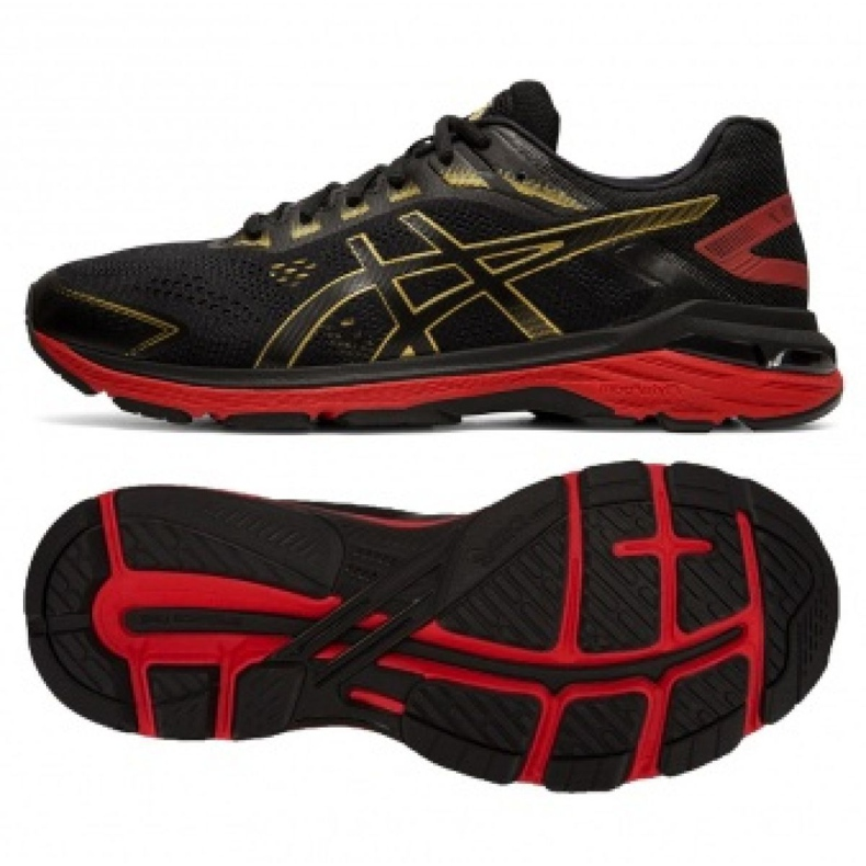 Chaussures de course Asics GT-2000 7 M 1011A262-001 noir