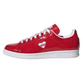 Chaussures Adidas Originals Stan Smith en G28136 rouge