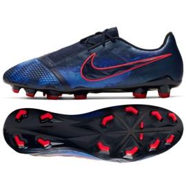 Chaussures de football Nike Phantom Venom Elite Fg M AO7540-440 marine bleu marine