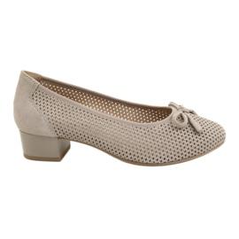 Chaussures femme Caprice 22501 beige doré