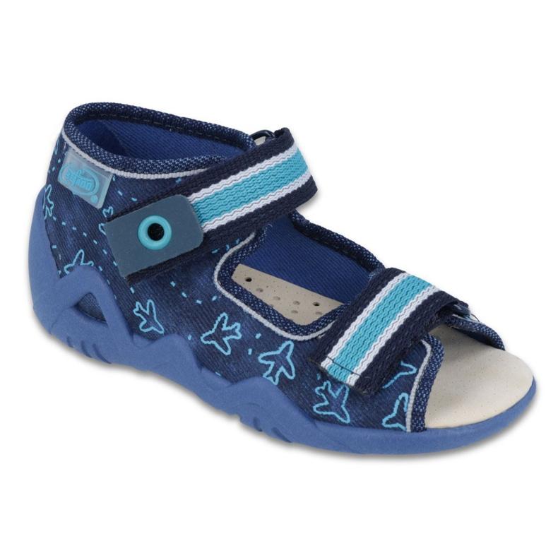 Chaussures enfant jaune Befado 350P004