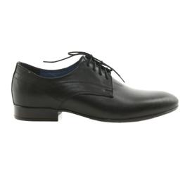 Chaussures de toile classiques pour hommes Nikopol 1693 noir