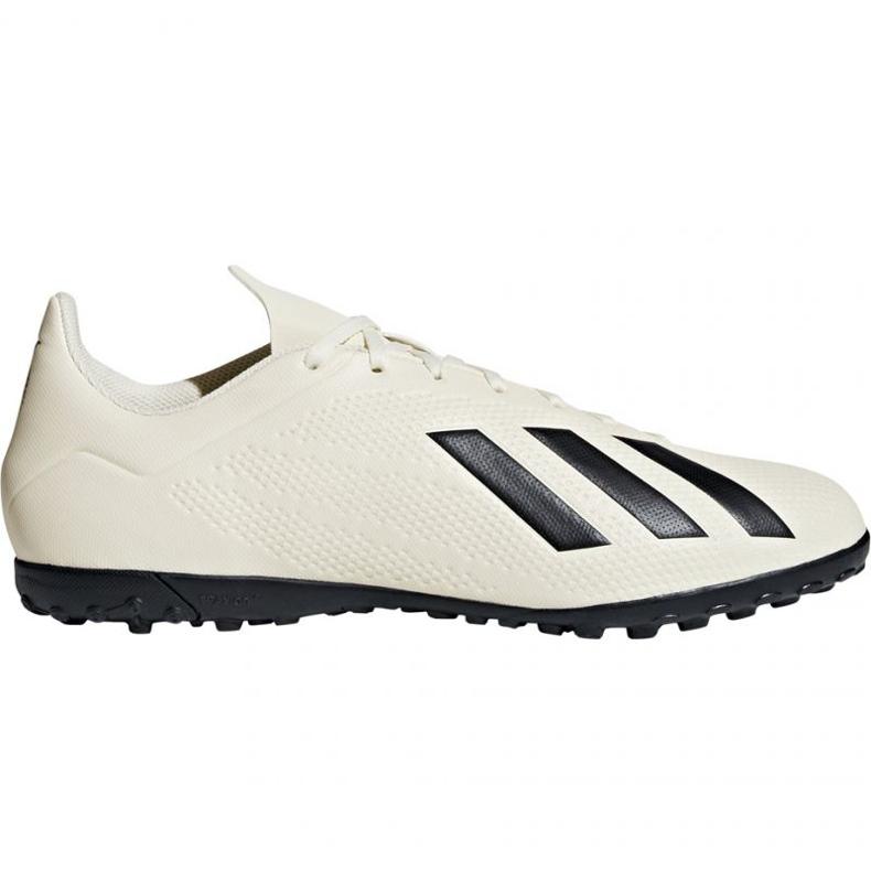 Chaussures de football Adidas X Tango 18.4 Tf M DB2478 blanc blanc