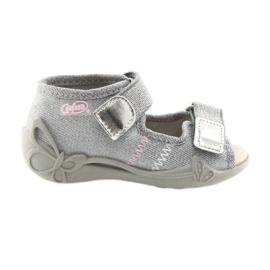 Gris Befado chaussures pour enfants 342P002 argenté