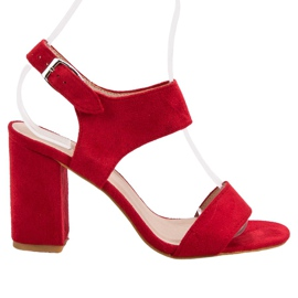 Sandales VINCEZA rouges