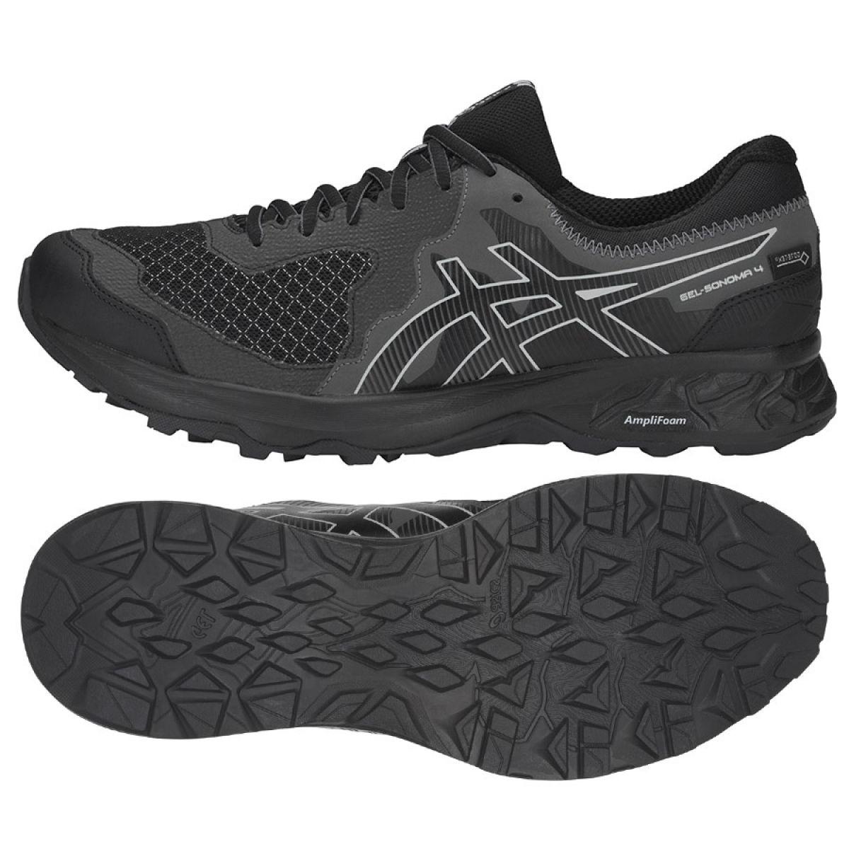 M De 4 1011a210 Running Chaussures 001 Noir Asics Gel Sonoma sCthQrd