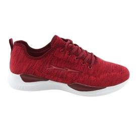 Rouge Fixations de sport pour hommes DK SC235