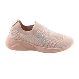 Chaussures de sport American Club AD05 rose
