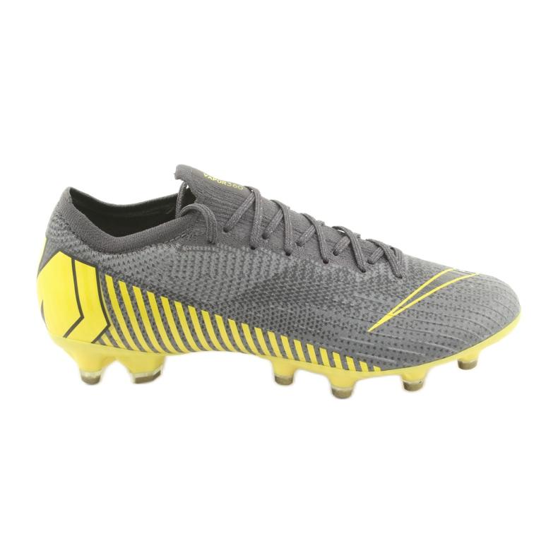 Chaussures de football Nike Mercurial Vapor 12 Elite Ag Pro M AH7379-070 gris gris / argent