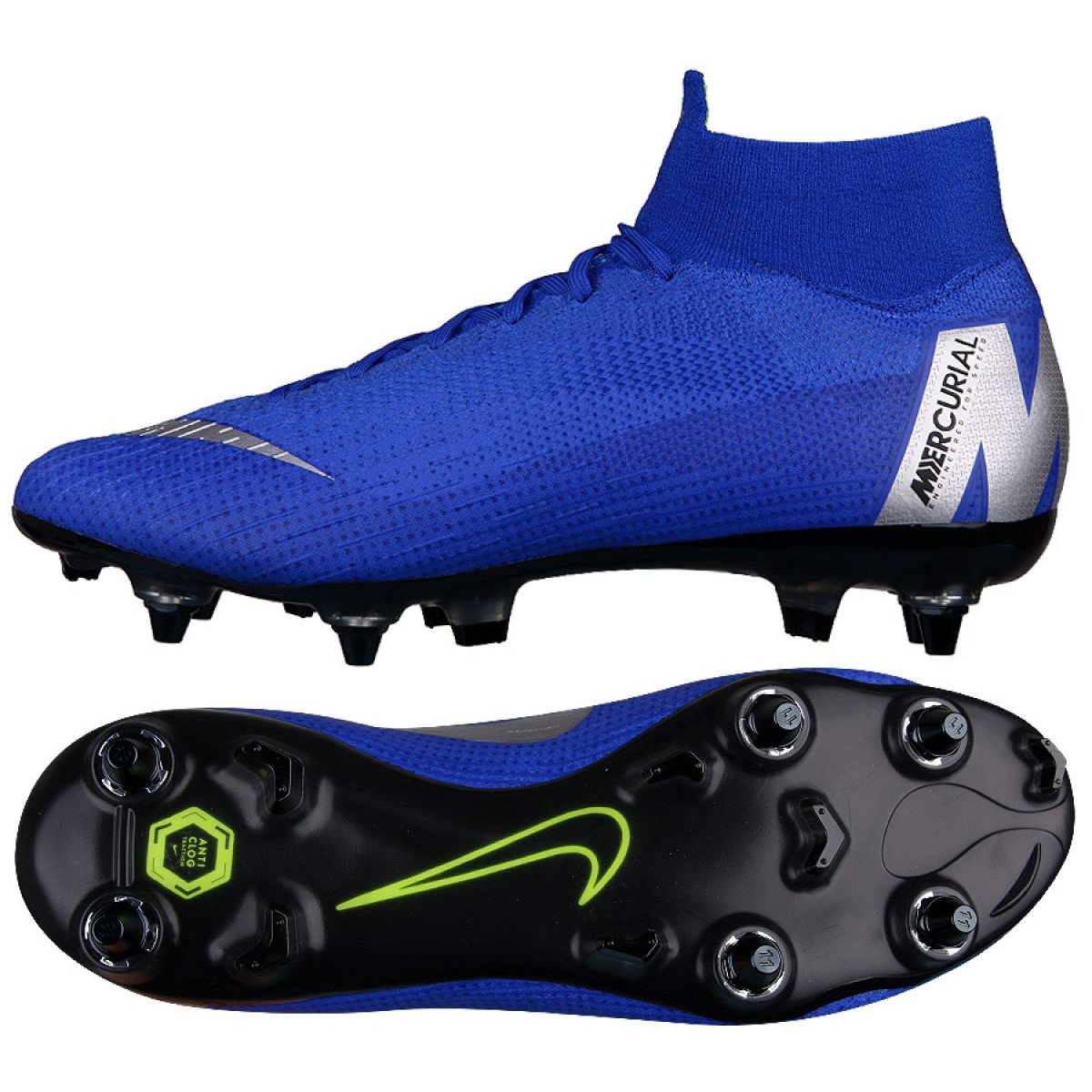 arriving fashion best deals on Chaussures de football Nike Mercurial Superfly 6 Elite SG-Pro M AH7366-400