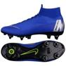 Chaussures de football Nike Mercurial Superfly 6 Elite SG-Pro M AH7366-400 bleu bleu