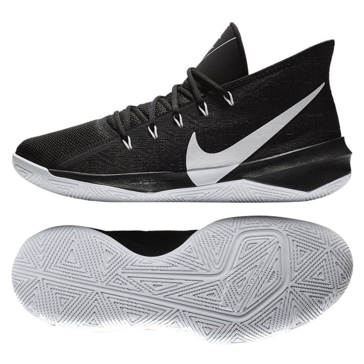 chaussure de basket nike air zoom evidence rouge adulte nike