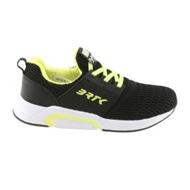 Bartek 55110 Chaussures de sport noires coulissantes
