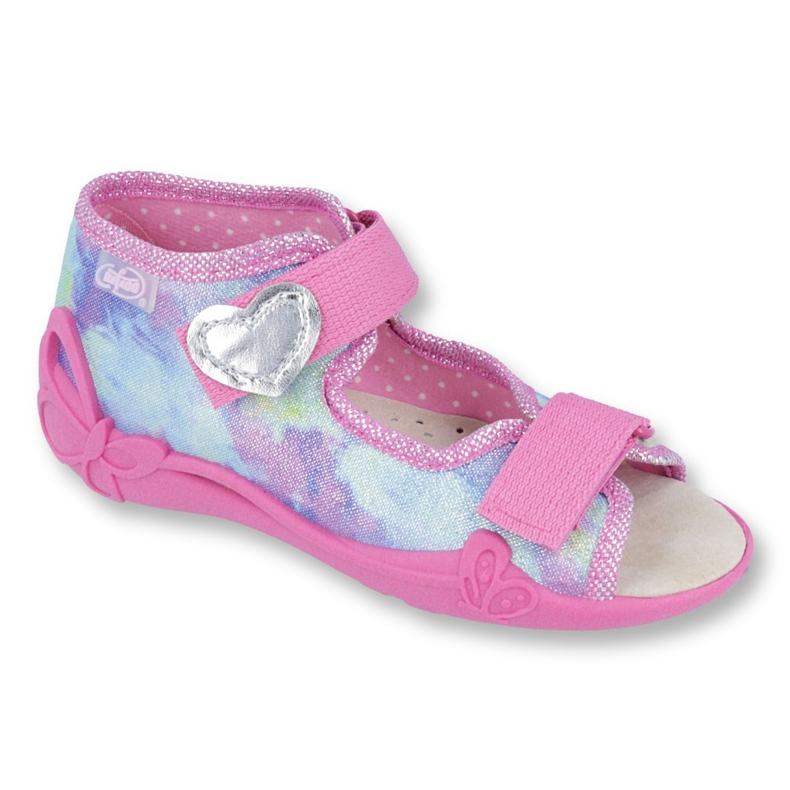 Chaussures enfant jaune Befado 342P005