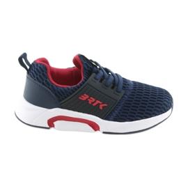 Bartek 58110 Chaussures de sport à enfiler bleu marine